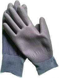 濃いグレー手の平PUコーティング手袋 HMBT-49