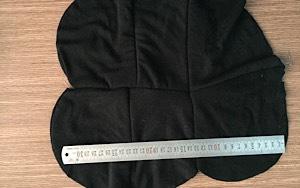 Vải lau màu may nối 3-5 lớp dòng phổ thông