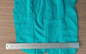 Vải lau màu may nối 3-5 lớp