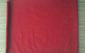 Vải lau màu 1 lớp không may khổ A4