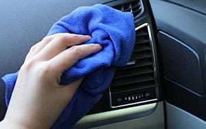 Khăn lau đa năng lau chùi xe hơi rất phù hợp