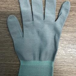 Găng tay màu không phủ PU HMBT-50