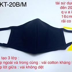 Khẩu Trang Vải HMKT-20
